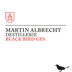 Etikett Black Bird Gin