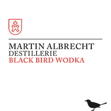 Etikett Black Bird Wodka